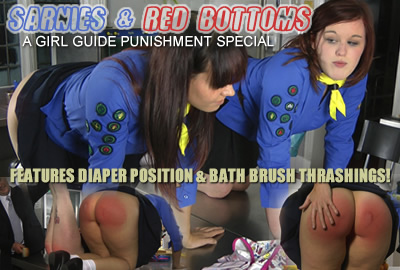 Click here to see this brand new Girl Guide Punishment film