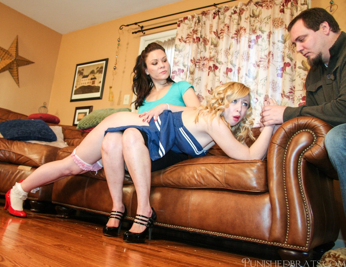 Domestic lesbian discipline - 1 part 6