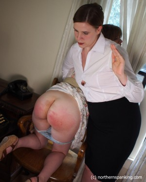 hard bare bottom spanking