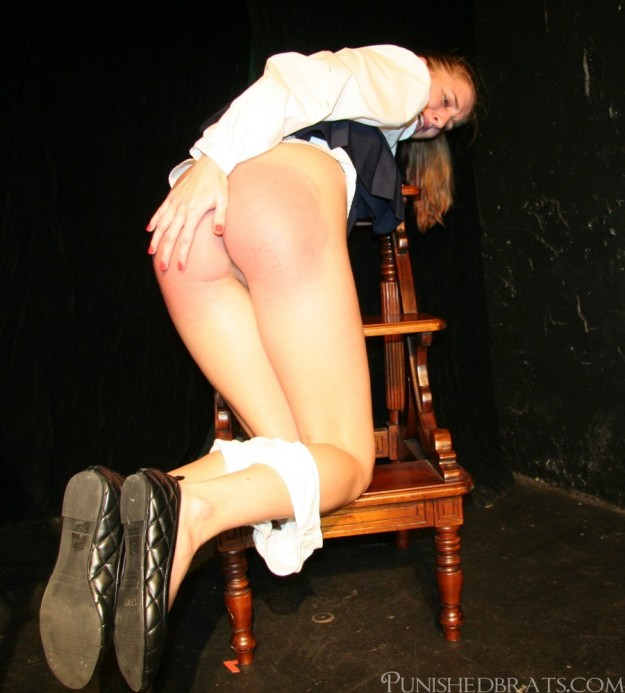aftermath of a spanking
