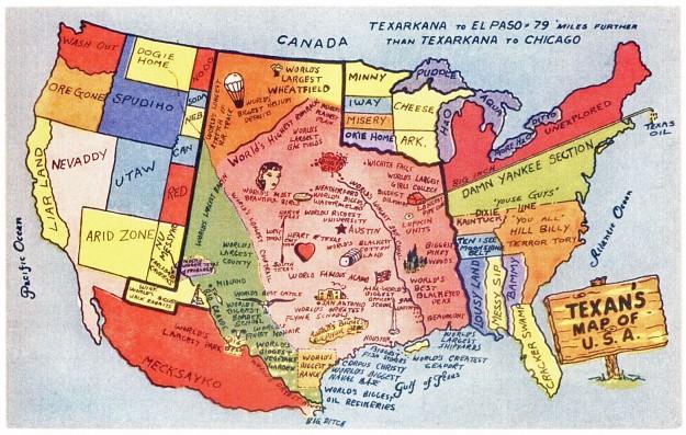 A-Texan-s-Map-of-America-texas