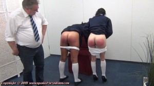 bared ass on display