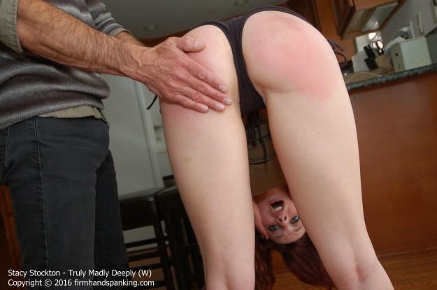 a man spanking