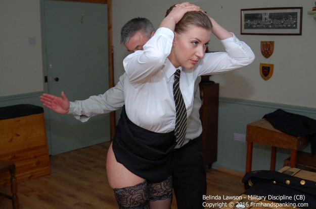 BELINDA LAWSON IS SPANKED AND SLIPPERED
