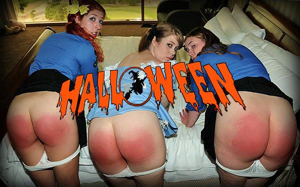 horrid_halloween spanking