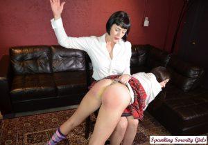 wedgie spanking