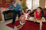 Cheergirl spanking